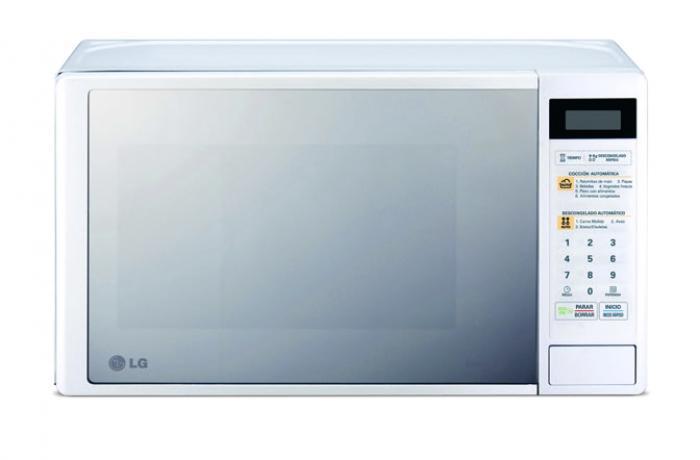 Horno Microondas LG MS2043WM BL