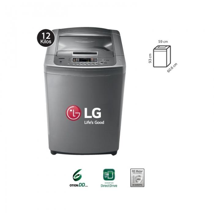 Resultado de imagen para lavadora lg t1266tpj
