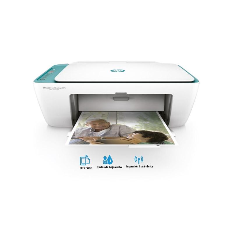HP IMPRESORA MULTIFUNCIONAL DESKJET INK ADVANTAGE 2675 ALL IN ONE