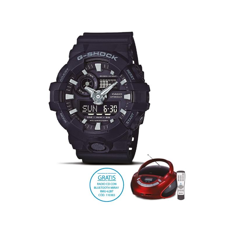 97c2f384e4d5 Casio Reloj Pulsera Acuatico Ga 700 1bdr