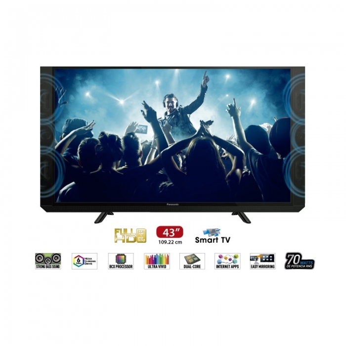PANASONIC TELEVISOR SMART TC 43SV700 43""
