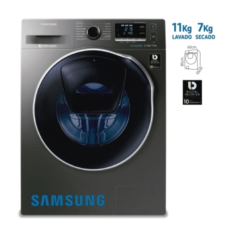 SAMSUNG LAVADORA WD11K6410OX PE