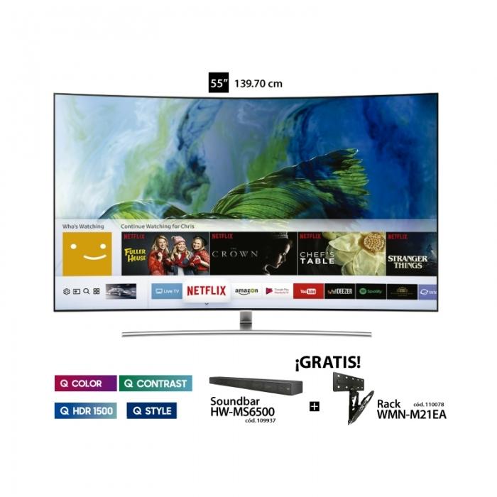 SAMSUNG TELEVISOR QLED TV QN65Q8 65