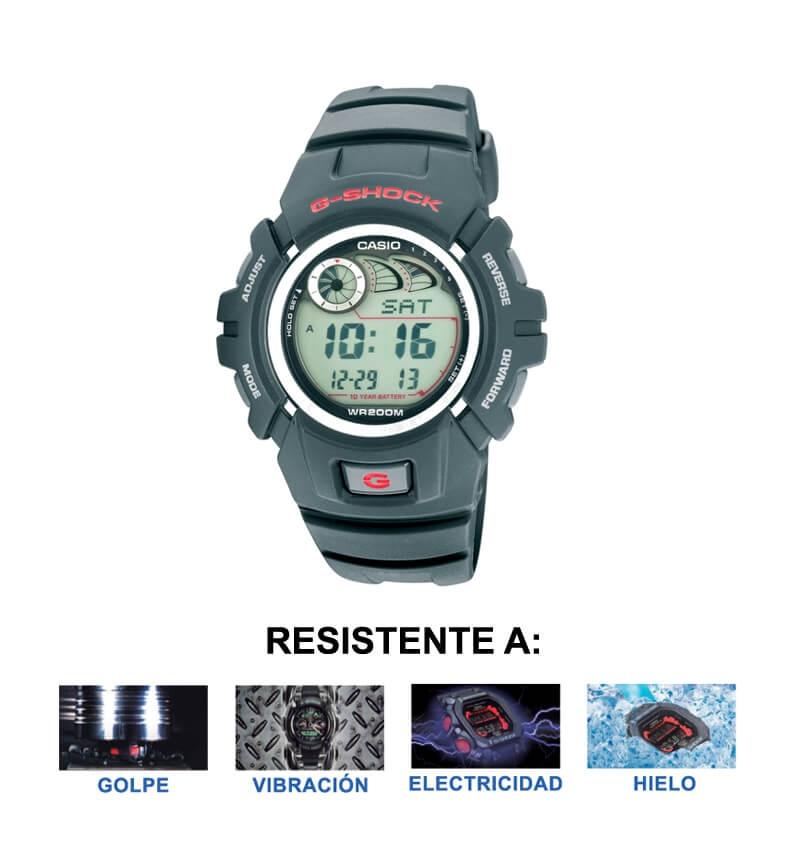 4f3b8396909 Casio Reloj G-shock G-2900f-1vdr