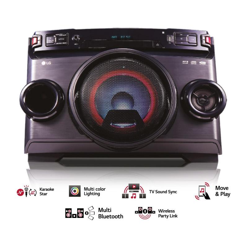LG MINICOMPONENTE OM4560