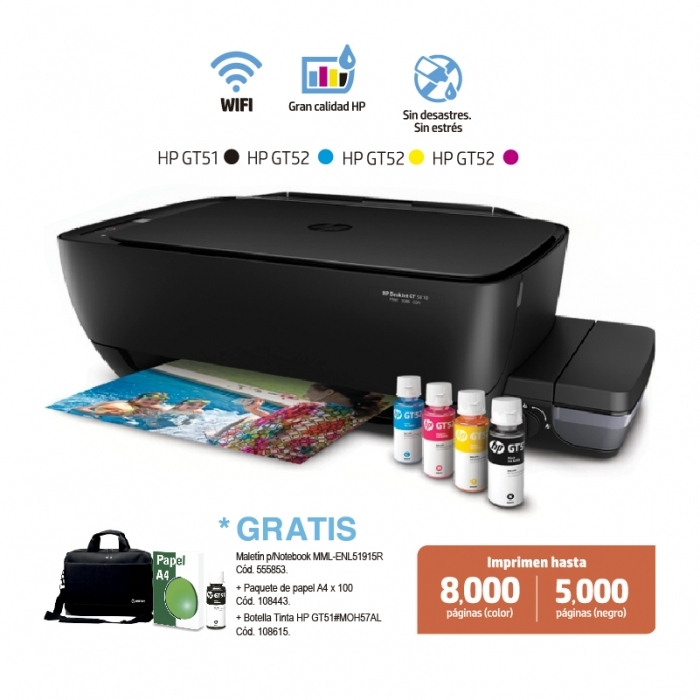 HP IMPRESORA DESKJET GT5810 ALL-IN-ONE