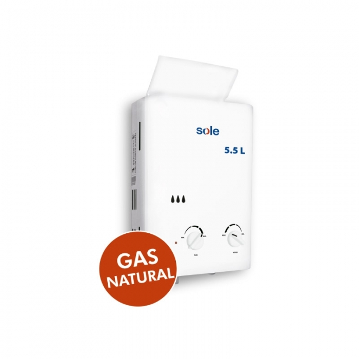 SOLE TERMA A GAS CAP. 5.5 L SOLEGASN05C