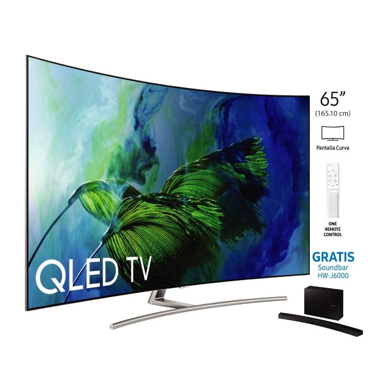 "SAMSUNG TELEVISOR QLED TV QN65Q8C 65"""