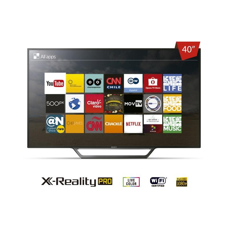 "SONY TELEVISOR FULL HD KDL 40W655D 40"""