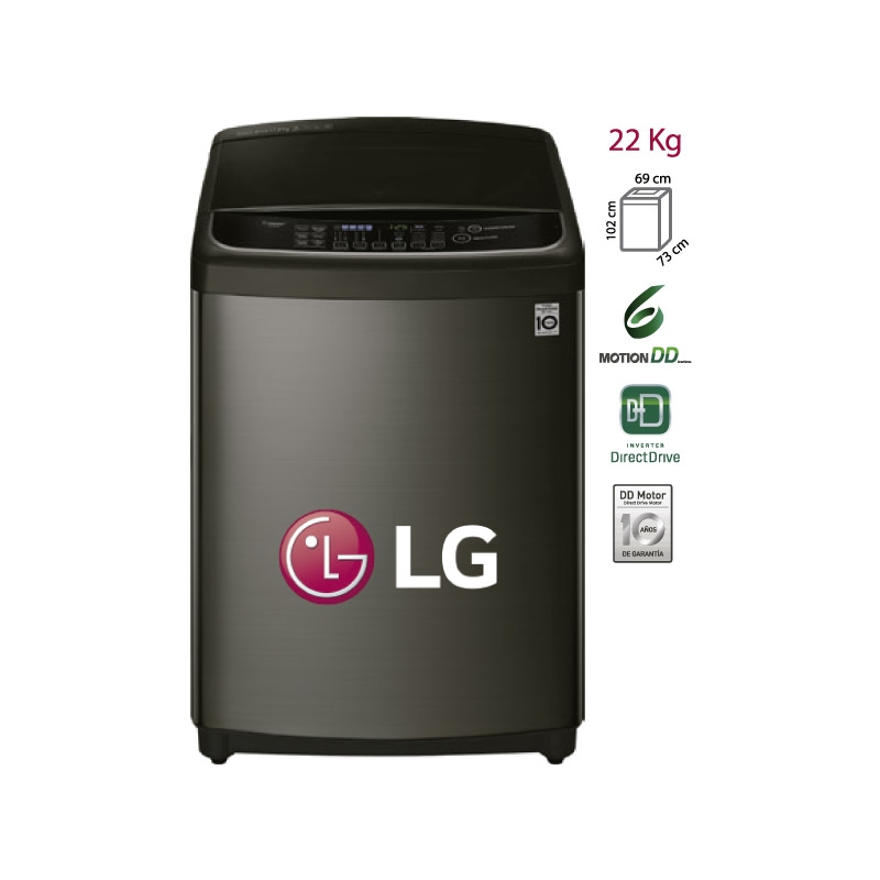 LG LAVADORA TS2200DPS 22 KG