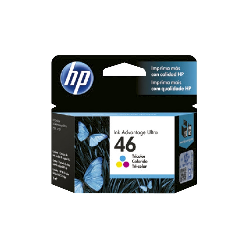 HP TINTAS ORIGINALES 46