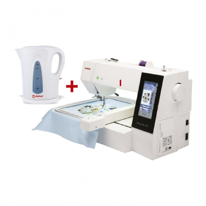 JANOME BORDADORA MC-500E + HERVIDOR MIRAY HM-858