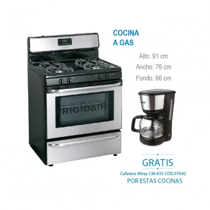 FRIGIDAIRE COCINA A GAS FFGF3047LS