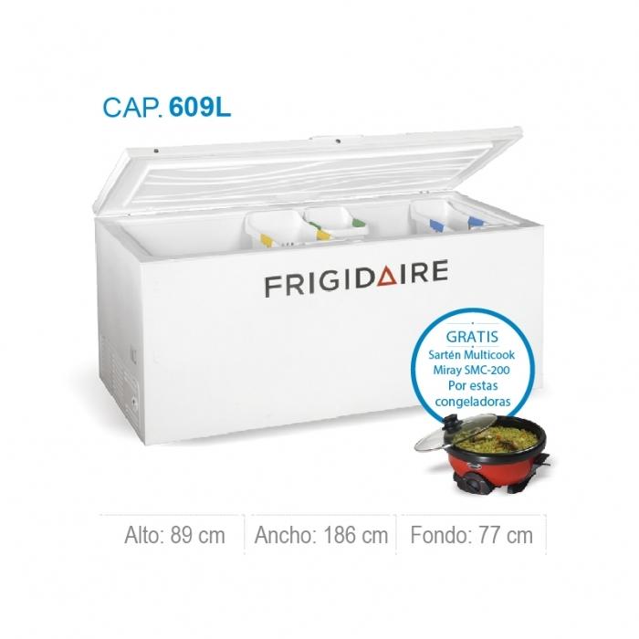 FRIGIDAIRE CONGELADORA HORIZONTAL FFFC22M6QW