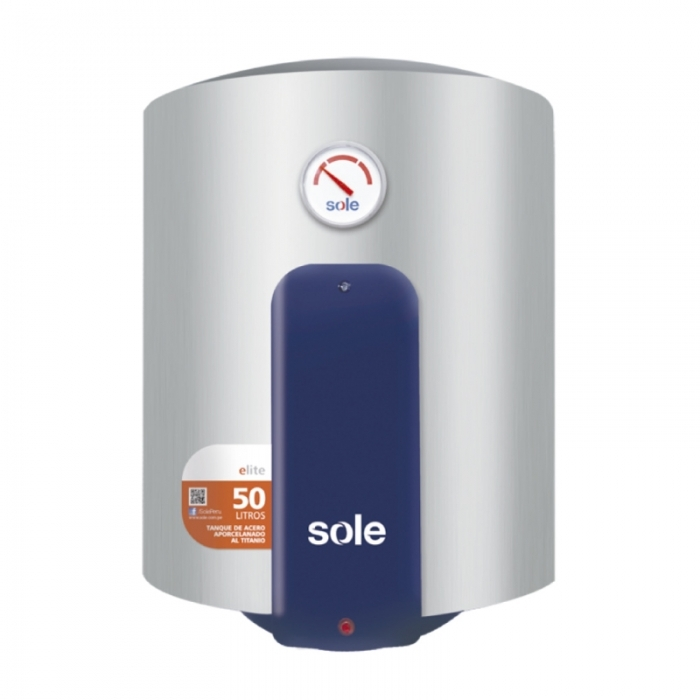 SOLE TERMA ELÉCTRICA CAP. 50 L SOTEEL50