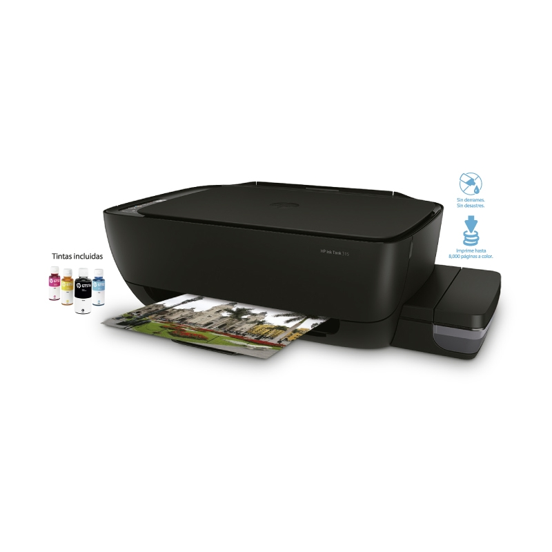HP IMPRESORA MULTIFUNCIONAL INK TANK WIRELESS 315