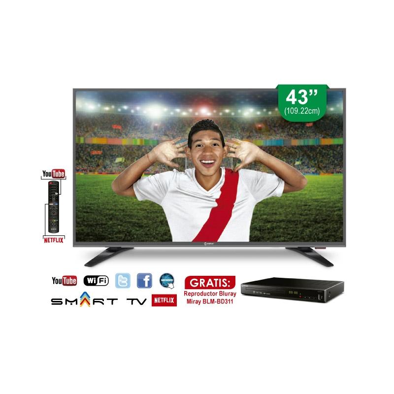MIRAY TELEVISOR LED SMART TV LEDM4K 432NIP