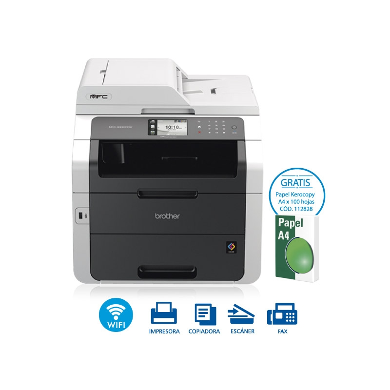 BROTHER EQUIPO MULTIFUNCIONAL LED COLOR MFC 9330CDW