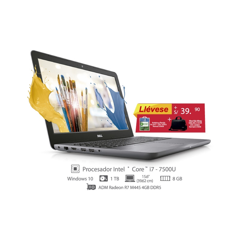 DELL LAPTOP INSPIRON 15 SERIE 5567 I5567 I781TGSW1OS 517