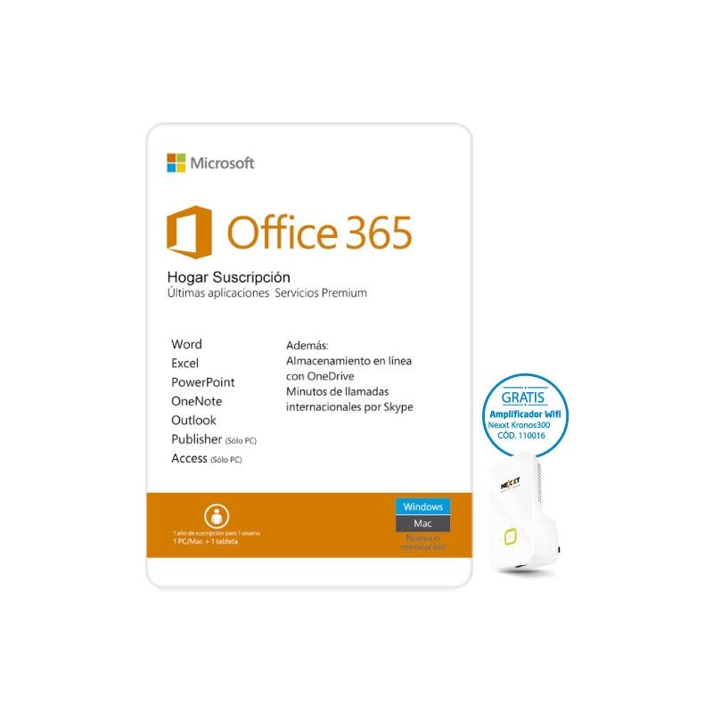 MICROSOFT OFFICE 365 HOGAR SUSCRIPCION
