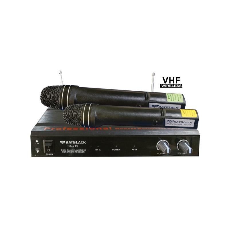 BATBLACK MICROFONO INALAMBRICO VHF BT 219