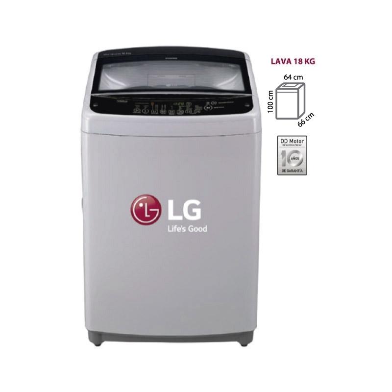 LG LAVADORA TS1805NS GRIS