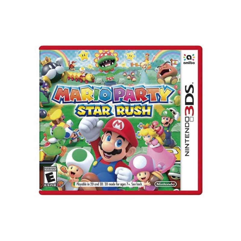 NINTENDO SWITCH JUEGO MARIO PARTY STAR RUSH 3DS