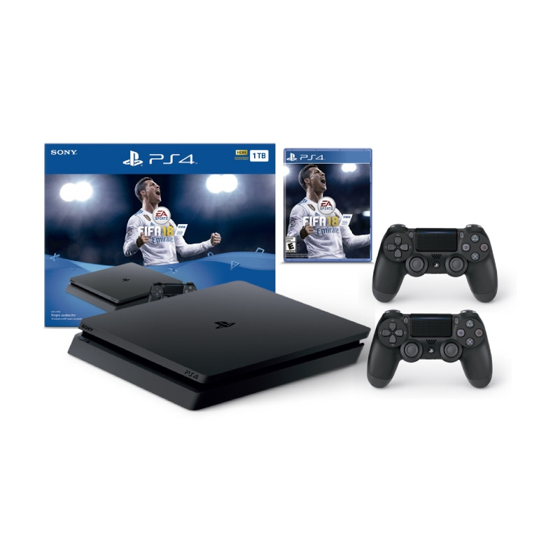 PLAY STATION PS4 CONSOLA FIFA 18 BUNDLE
