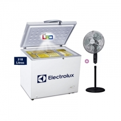 ELECTROLUX CONGELADORA EFCC32C2HQW + VENTILADOR SFV10