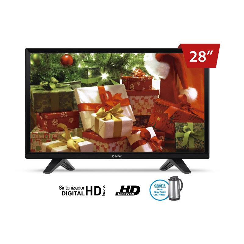 MIRAY TELEVISOR HD LEDM 2804IS 28""
