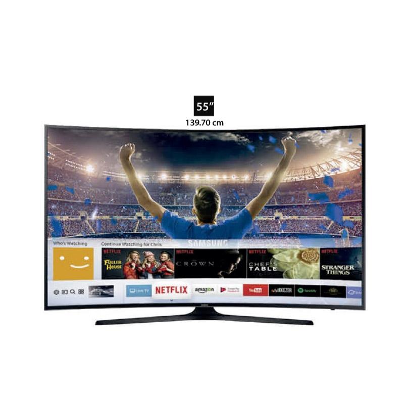 "SAMSUNG TELEVISOR CURVED UHD UN55MU6303 55"""