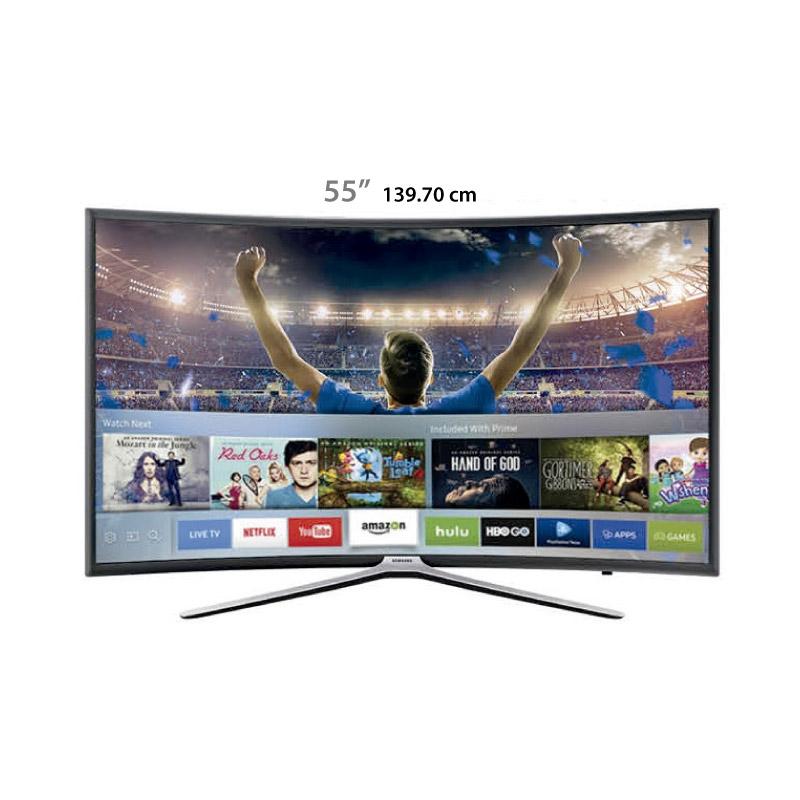 """SAMSUNG TELEVISOR LED CURVED UN55K6500 55"""""""