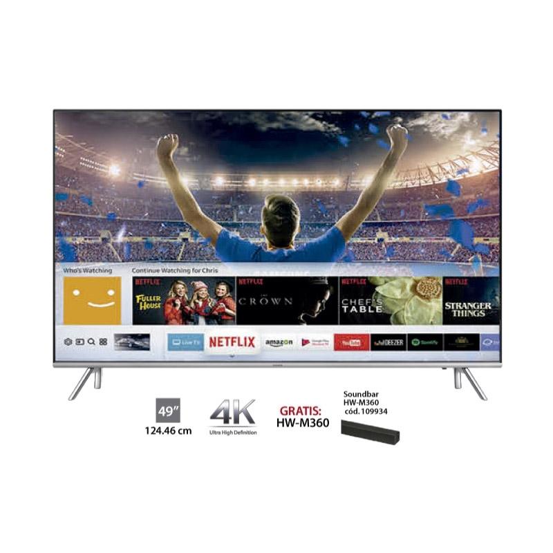 """SAMSUNG TELEVISOR UHD UN49MU7000 49"""""""