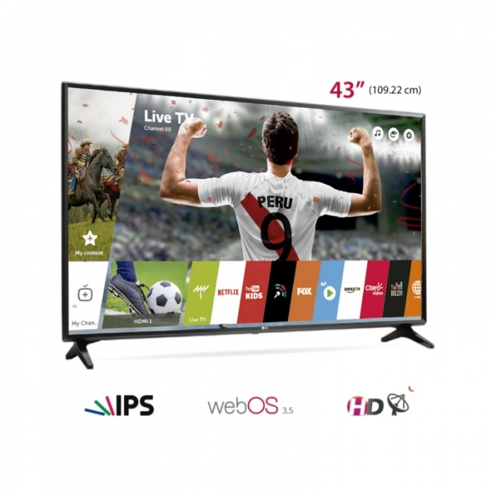 "LG TELEVISOR SMART TV 43LJ5500 43"""