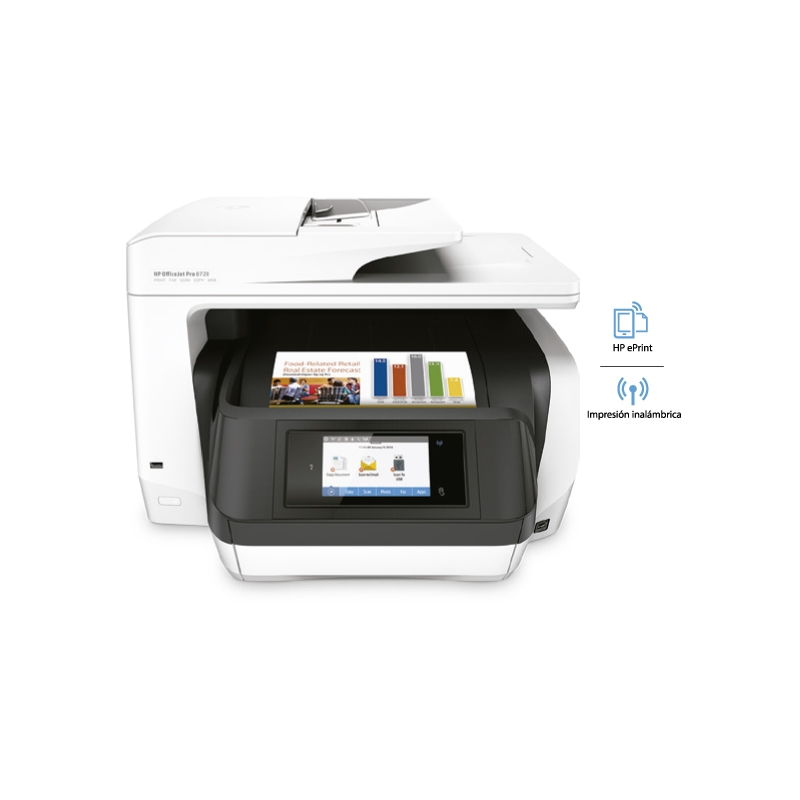 HP IMPRESORA MULTIFUNCIONAL OFFICEJET PRO 8720 ALL-IN-ONE