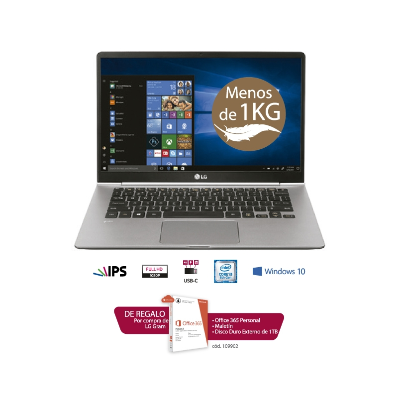 LG LAPTOP GRAM ULTRA SLIM 14Z980 G