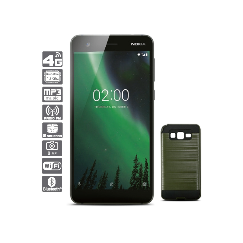 NOKIA SMARTPHONE 2 + PROTECTOR BRIGHTSTAR