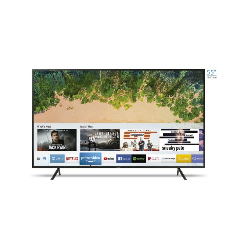 "SAMSUNG TELEVISOR 4K UHD UN55NU7100 55"""