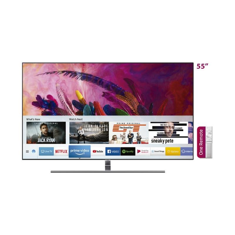 SAMSUNG TELEVISOR QLED TV QN55Q7FNA