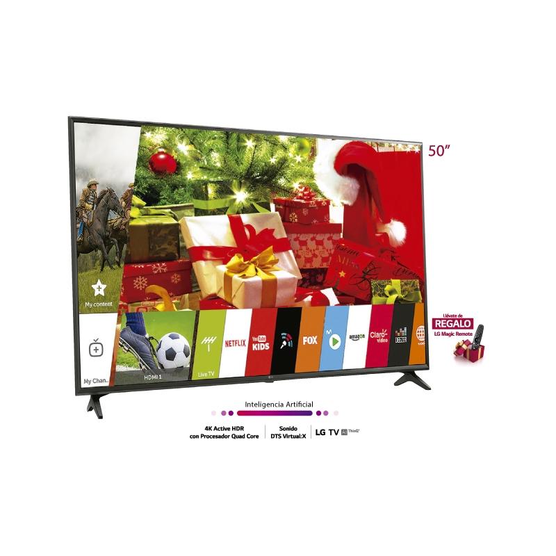 "LG TELEVISOR UHD 4K AI THINQ UK6300 50"""