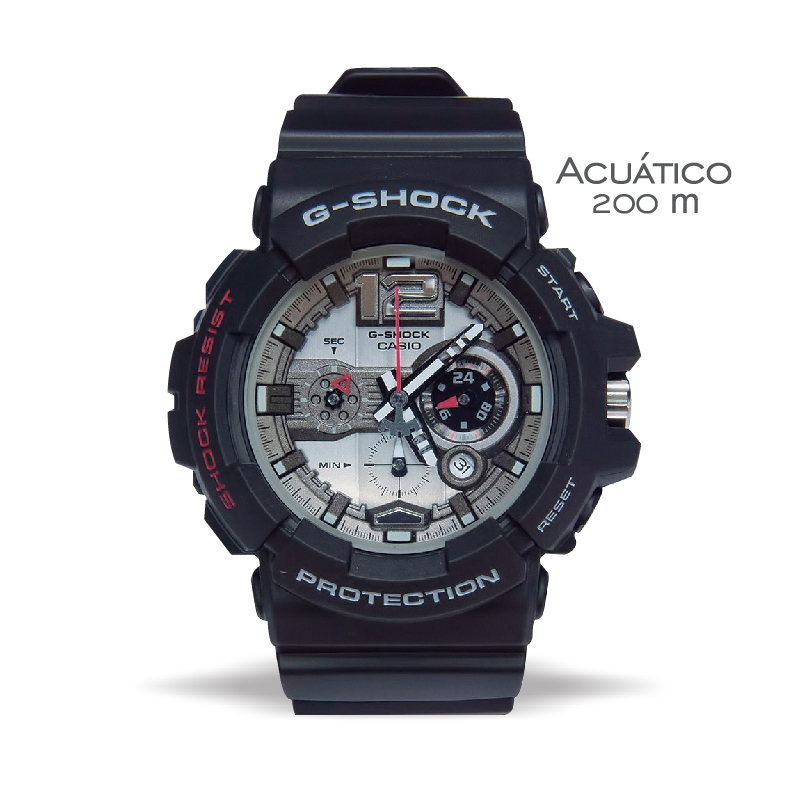 ce496e4195e Casio G-shock Reloj Pulsera Gac-110-1adr