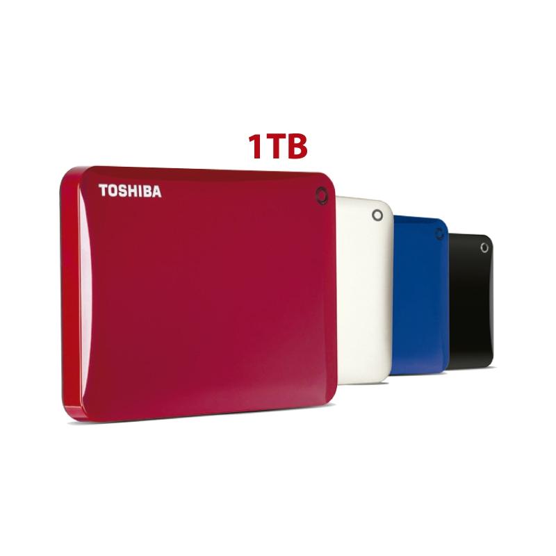 TOSHIBA DISCO DURO EXTERNO CANVIO CONNECT II HDTC810XK3A1 1TB