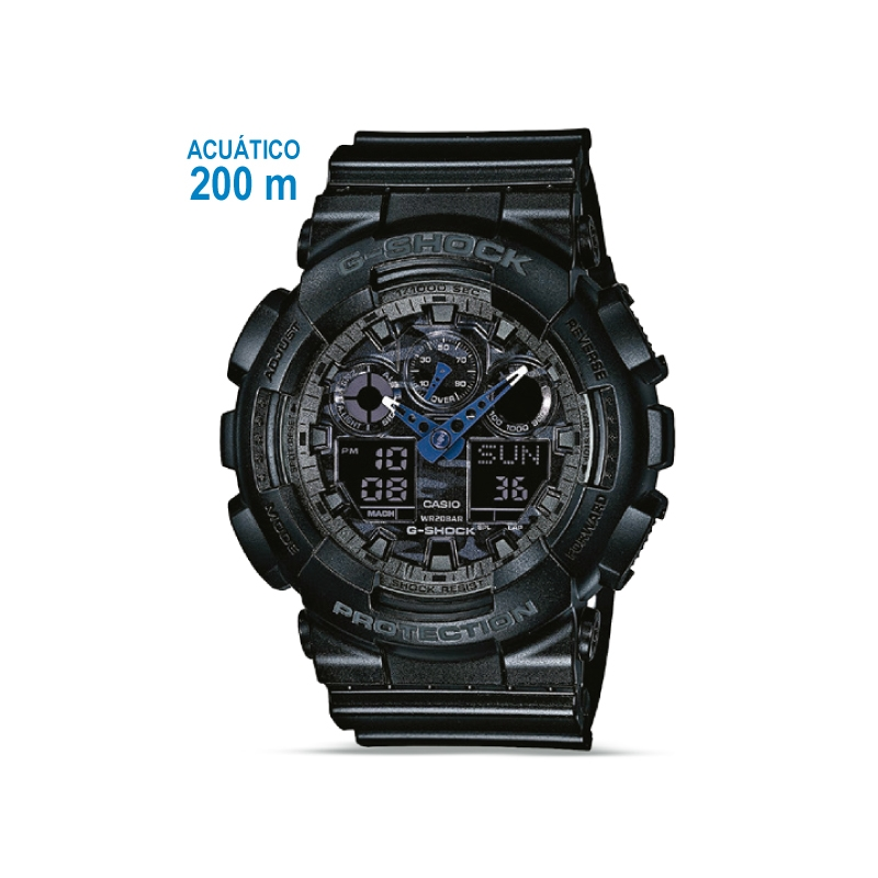 fc7dfe3e4908 Casio Reloj Pulsera Acuatico Ga 100cf 1adr