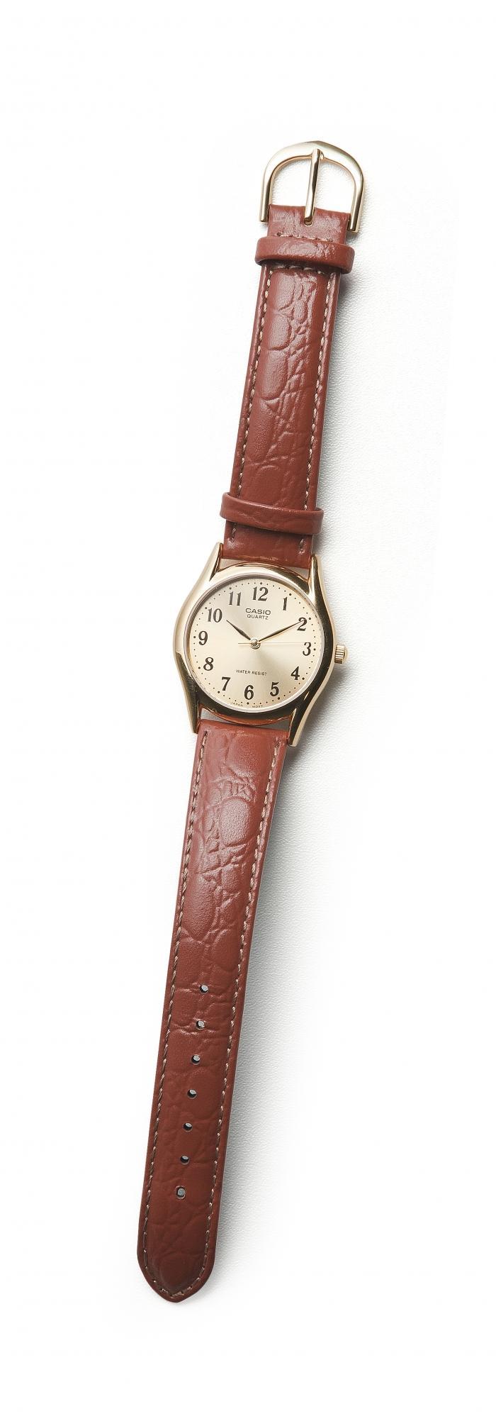 Casio Reloj Correa De Cuero