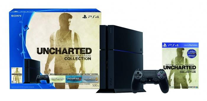 CONSOLA PS4 + MANDO DS4 + JUEGO UNCHARTED COLLECTION