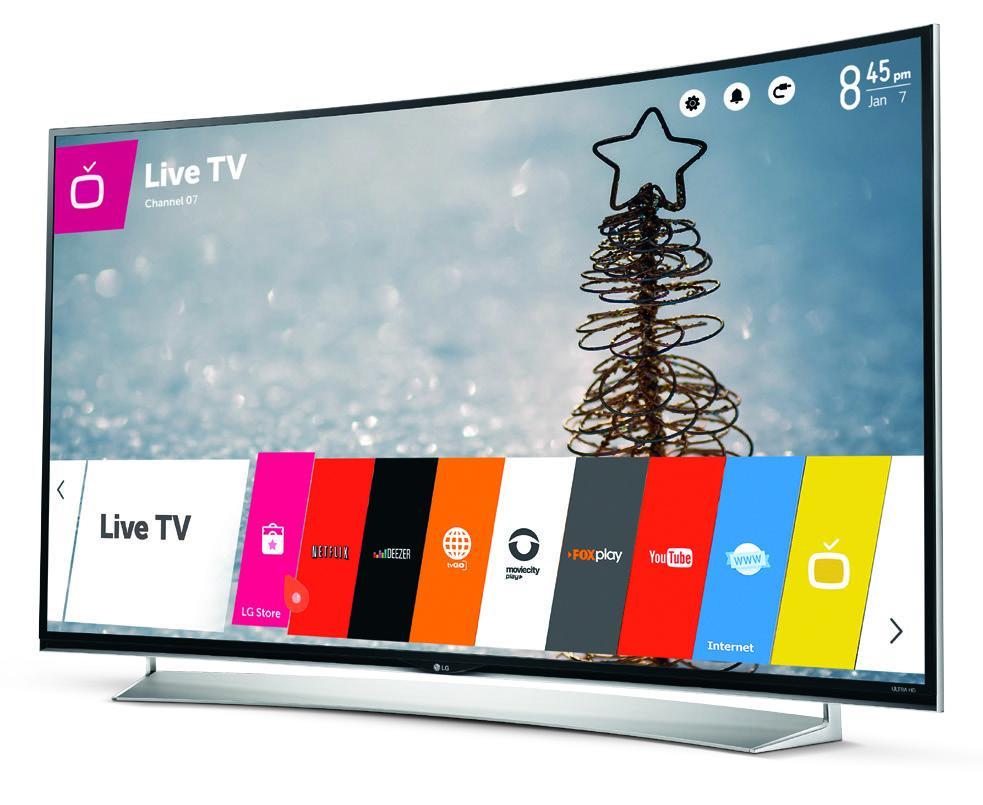"TELEVISOR LG LED SMART UHD 3D 55"" UG8700"